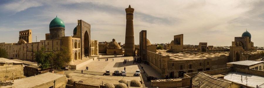 Оформление страхового полиса для поездки в Узбекистан
